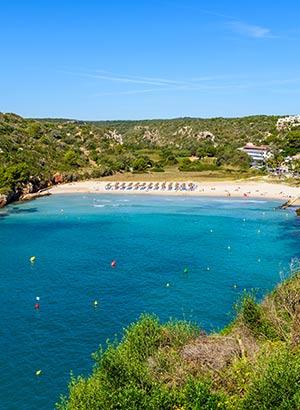 Mooiste stranden Menorca: Cala'n Porter