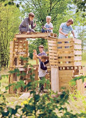 (Paas)weekendjes weg kinderen: Hof van Saksen