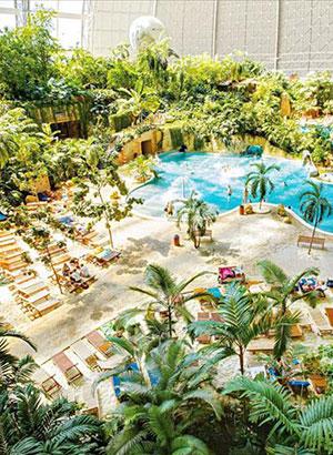 (Paas)weekendjes weg met kinderen: Tropical Islands