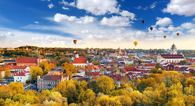 Stedentrip Vilnius