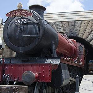 The Wizarding World of Harry Potter, Florida; Hogwarts Express