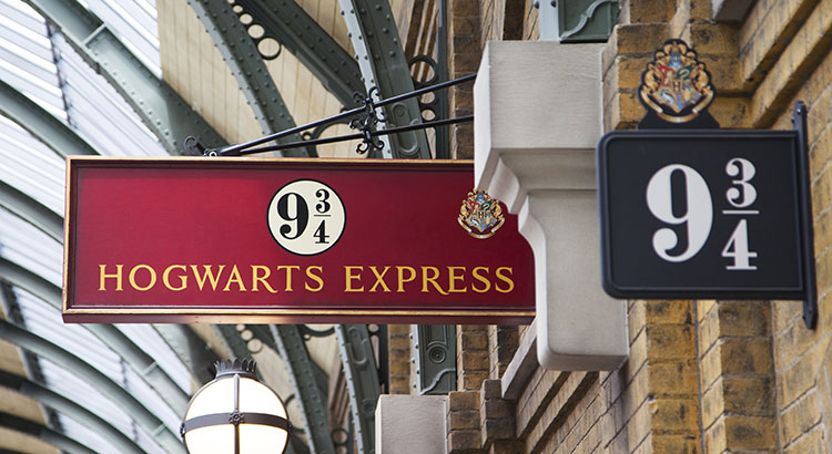 Harry Potter Florida, Platform 9 3/4