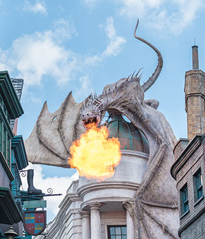 The Wizarding World of Harry Potter, Florida; Wegisweg