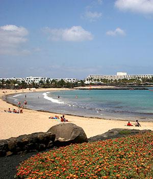 Mooiste tranden Lanzarote, Costa Teguise