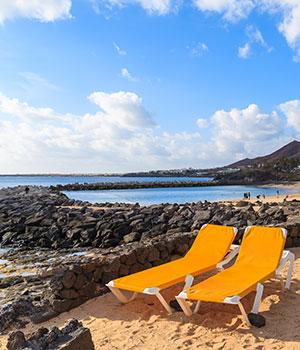 Mooiste stranden Lanzarote, Playa Blanca