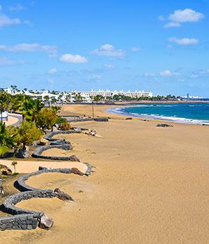 Mooiste stranden Lanzarote, Puerto del Carmen