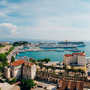 Vakantie Split, haven