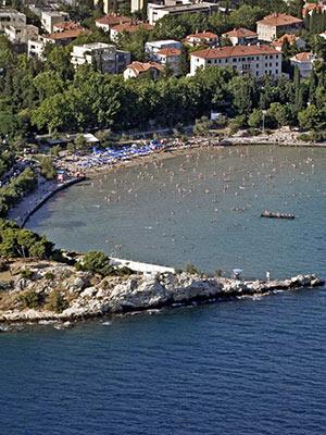Vakantie Split, strand