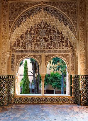 Alhambra Granada, paleizen