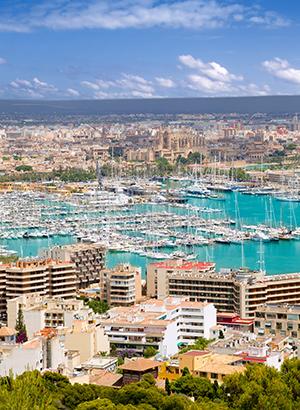 Badplaatsen Mallorca: Palma de Mallorca