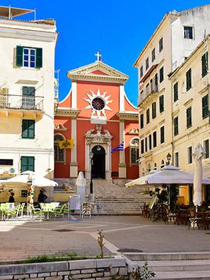 Corfu met kinderen: cultuur