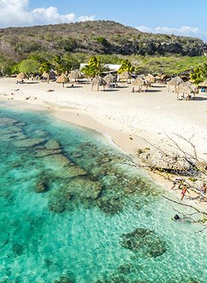 curacao met kinderen: stranden