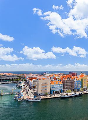 Curacao met kinderen: Willemstad