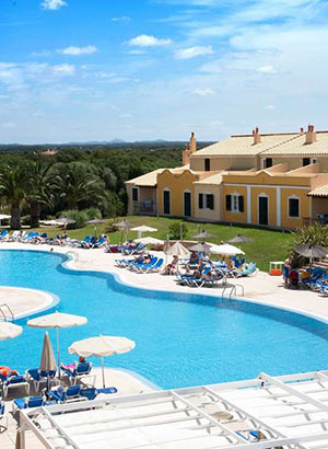 Familiehotels Menorca: Grupotel Playa Club