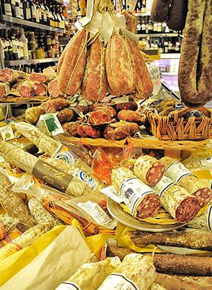 Proeven in Rome: vleeswaren en kaas