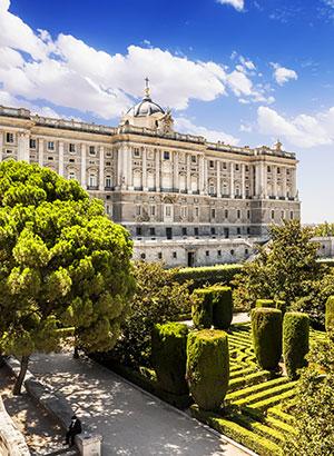 Redenen Madrid, paleis