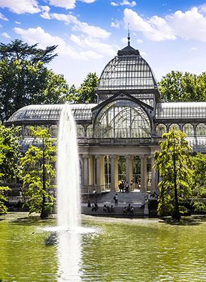 Reden stedentrip Madrid: parken