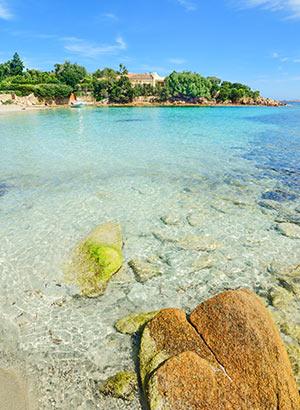 Stranden Sardinië: noorden
