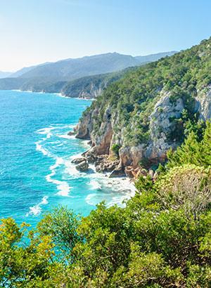 Stranden Sardinië: oosten