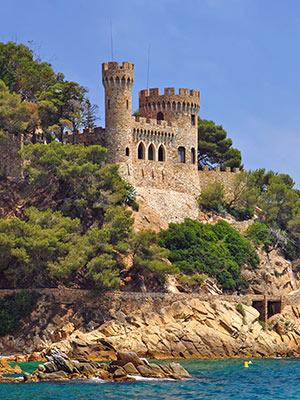 Vakantie Lloret de Mar, kasteel