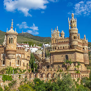 Vakantie Torremolinos, Castillo de Colomare