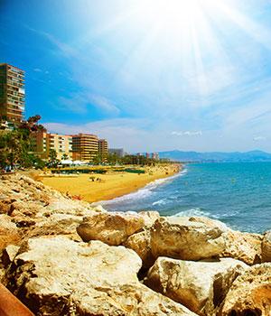Vakantie Torremolinos, stranden