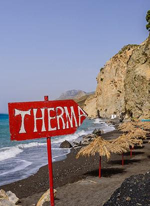 Bezienswaardigheden Kos: thermale bronnen