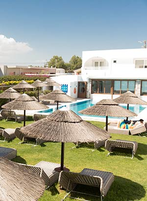 Favoriete hotels Kos; Tigaki