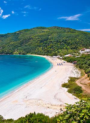 Griekse vakantie Epirus & Parga: strand
