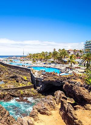 Leukste badplaatsen Tenerife: Puerto de la Cruz