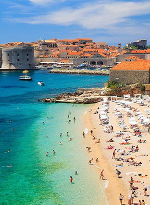 Bestemmingen zomerse short breaks: Dubrovnik