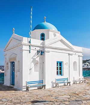 Agios Nikolaos, kerk
