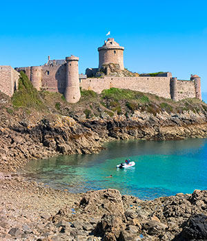 Bezienswaardigheden Bretagne, Fort la Latte