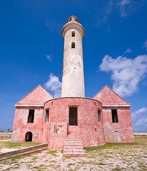 Dagtocht Klein Curaçao, vuurtoren