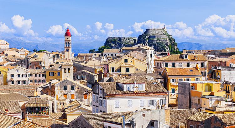 Bezienswaardigheden Corfu-Stad