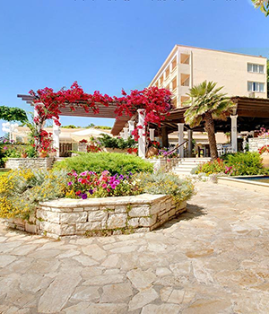 Bezienswaardigheden Corfu-Stad: Hotel Corfu Palace