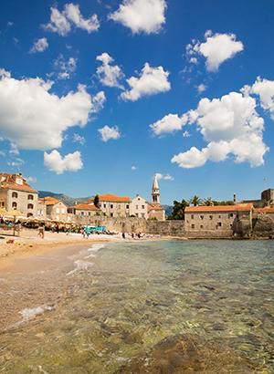 Leuke badplaatsen Montenegro: Budva