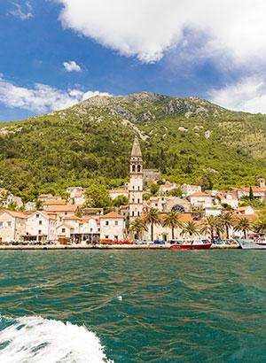 Bezienswaardigheden Kotor: baai