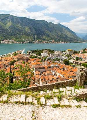 Bezienswaardigheden Kotor: stadsmuur beklimmen