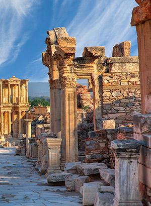 Cultuur in Efeze, Turkije