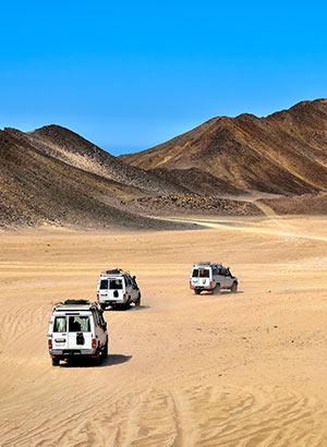 Excursies Rode Zee, Egypte: woestijn