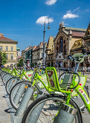Fietsen in Boedapest huren