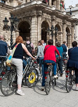 Fietsen in Boedapest: tours