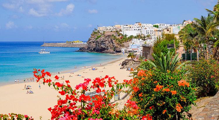 Vissersdorpje Morro Jable op Fuerteventura