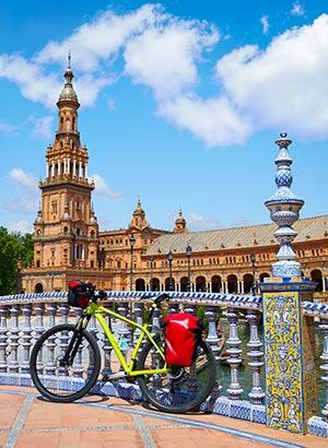 Redenen Sevilla: fietsen