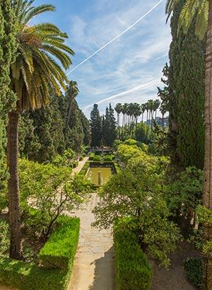 Reden Sevilla: stadsparken en tuinen