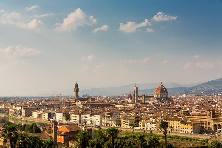 Reisfotografie Florence: Piazzale Michelangelo