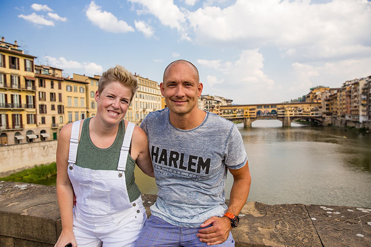 Reisfotografie Florence: Ponte Vecchio