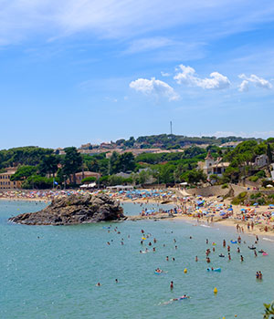 De mooiste stranden aan de Costa Brava, Cala de la Fosca
