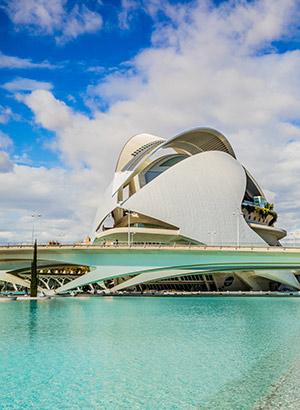 Ciudad de las Artes y Ciencias; operagebouw
